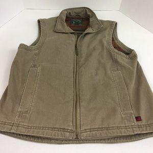 Men's WOOLRICH Fleece Lined Vest Large